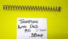 Auto Ordnance Thompson 1911 Government MAIN SPRING HOUSING 38 SUPER  LOT #TAOMSH