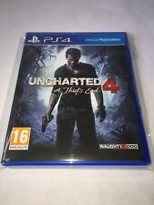 UNCHARTED 4 A THIEFS END - PS4 - PAL - GREAT PRICE - TRUSTED - FAST - NEW