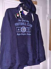 New York City Football Club Nycfc soccer Hooded Sweatshirt Ny Shirt - Ladies M