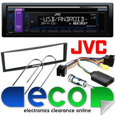Renault Modus 2004-2012 JVC CD MP3 USB AUX Car Stereo Radio & Steering Wheel Kit