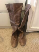 Schuh Brown Calf Boots Size 6