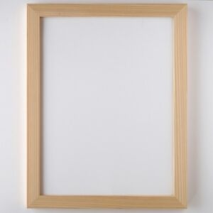 Precious Japanese Cedar Frame for Wood Collage 287×379mm / for Senior difficulty