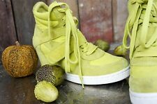 Limited a by Ash * High sneakers/High Top * giallo verde in pelle * * Taglia 39