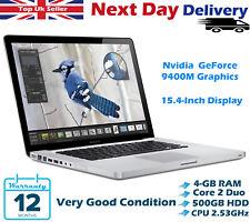 Apple MacBook Pro 15.4-Inch Intel Core 2 Duo 2.53GHz 4GB RAM 500GB HDD ElCapitan