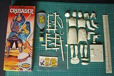 1950s Vintage Aurora Playcraft (Corgi) GB K7 Crusader Knight 1/8th Scale Figure