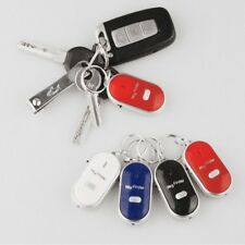 Flashing Find Lost Anti-Lost Beeping Whistle Sound Keychain Keyring Key Finder