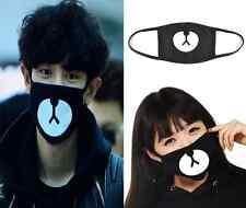 Unisex Black Cycling Anti-Dust Cotton Mouth Face Mask Respirator  ONE hs