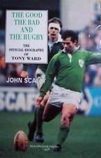 TONY WARD MUNSTER IRELAND & BRITISH LIONS RUGBY BOOK