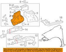 TOYOTA OEM 09-18 Corolla-Fender Trim-Front Left 5371202100