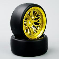 HobbyGo Set of 4 1:10 Speed Drift Racing Tyre Wheel Rim For HSP HPI RC Car BBG