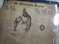 Woman Suffrage Newspaper 1902 AMERICAS GRAD  WOMAN DEAD - ELIZABETH CADY STANTON