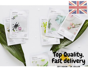 NEW INNISFREE My Real Squeeze Sheet Mask,UK Seller, Face mask, sheet mask