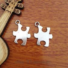 10pcs Charm puzzle Tibet silver pendant DIY Jewelry Making Fit Bracelet 7585