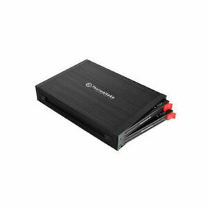 "Thermaltake ST0045Z 3.5"" Bay Max 5 Duet 2 x 2.5"" SSD SATA HDD Mobile Rack"