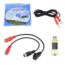 22 in 1 Flight RC Simulator USB Dongle Cable Set For Quadcopter Transmitter ❤HP