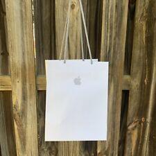 "APPLE STORE WHITE PAPER SHOPPING BAG 10"" X 7.75"" X 6.75"" NEW"