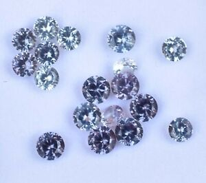 VVS 18 Pcs Natural Color Change Alexandrite Certified Flawless 3.50 mm Gemstone