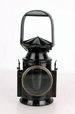 englische Bahnwächterlampe Signal Lampe lamp railway gestempelt 1942 Birmingham