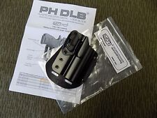 Original Czech Police CZ 75 D Compact Paddle Holster with Automatic Safety Lock
