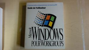 Windows pour Workgroups (3.11) Guide de l'utilsateur Français (French Manual)