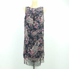 BETTY BARCLAY Kleid Sommerkleid Geblümt Paisley Blau Multicolor Gr. 38 M