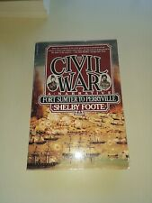 The Civil War Book Fort Sumter Sc Perryville Shelby Foote