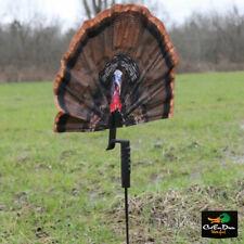 New Mojo Outdoors Fatal Fan Turkey Decoy Blind Hide Shotgun Scoot And Shoot