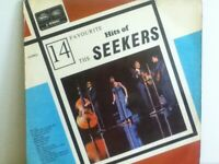 THE  SEEKERS               LP      14    FAVOURITE    HITS    OF   THE  SEEKERS