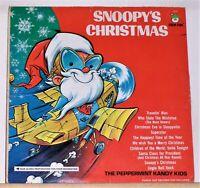 Snoopy's Christmas - The Peppermint Kandy Kids - 1970 Vinyl LP Record Album