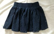 Aeropostale Navy Blue Lined Skirt, Women's Size Small