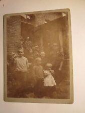 Mutter Unger + 5 Kinder Hof Ruhrort ? - van Loosen Anna Ehren 1894 / Kleines KAB