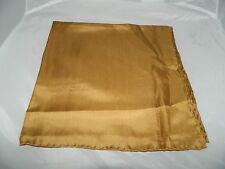 Vintage 100% Silk Camel Handkerchief Scarf