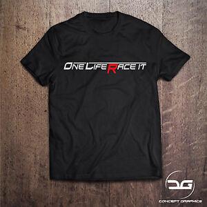 Funny One Life Race It Men's Mechanic Novelty Car T-Shirt Birthday Gift For Him