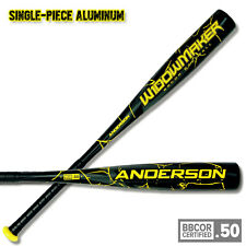 Anderson Widow Maker BBCOR 2020 (-3) Adult Baseball Bat - 34/31 New w/ warranty