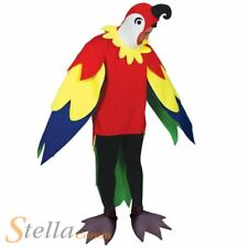 Adult Polly Parrot Bird Animal Fancy Dress Costume Stag Do Unisex Novelty Outfit