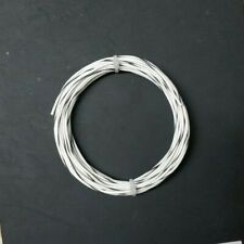 22 Awg Whtblk Mil Spec Wire 600v Ptfe Stranded Silver Plated Copper 25 Ft
