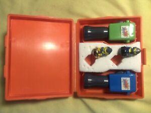 Spinjas Vintage Toys - Orange Case - Complete And Working 1987 Tomy