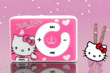DELUXE Hello Kitty Bundle MP3 Player Wallet Pen Badges Shoe Buckles & Stickers