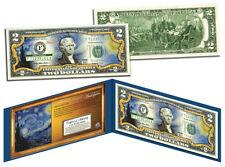 USA 2 Dollar Bill 1889 Vincent Van Gogh THE STARRY NIGHT Painting Legal Tender