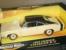 ERTL 1/18, 1969 DODGE CHARGER R/T, Cream, NEW