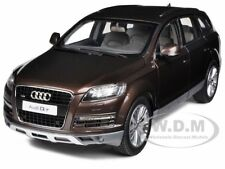 AUDI Q7 TEAK BROWN 1/18 DIECAST CAR MODEL BY KYOSHO 09222