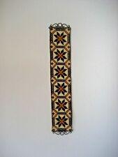Vintage Klokkestreng Wool TAPESTRY Bellpull DENMARK Wall Decor Folk Art #25