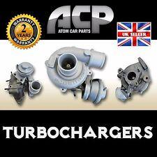Turbocharger for Toyota Auris, Avensis, Picnic, Previa, RAV4 - 2.0. 115/125 BHP.