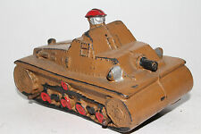 1940's Auburn Rubber Military Army Tank, Nice Original Lot #10