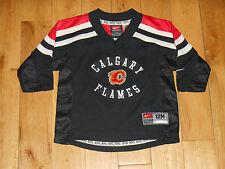 NIKE CALGARY FLAMES NHL HOCKEY JERSEY INFANT SIZE 12 MONTHS IGINLA PRUST FLEURY