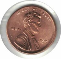 1999 LINCOLN PENNY UNC. DOUBLE DIE