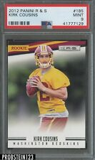 2012 Panini R&S Kirk Cousins Washington Redskins #185 PSA 9 MINT