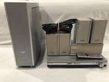 Panasonic SA-HT700 5 Disc DVD Home Theater System W/Remote and Power Adapter