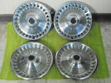 """73 74 Plymouth HUB CAPS 14"""" Set of 4 Wheel Covers Hubcaps 1973 1974"""