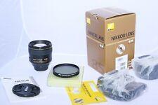 Nikon NIKKOR AF-S 85mm f/1.4 G telephoto Lens. BOX. Nikon z6, D5, D850